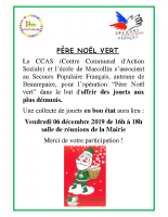 Père Noël Vert 2019